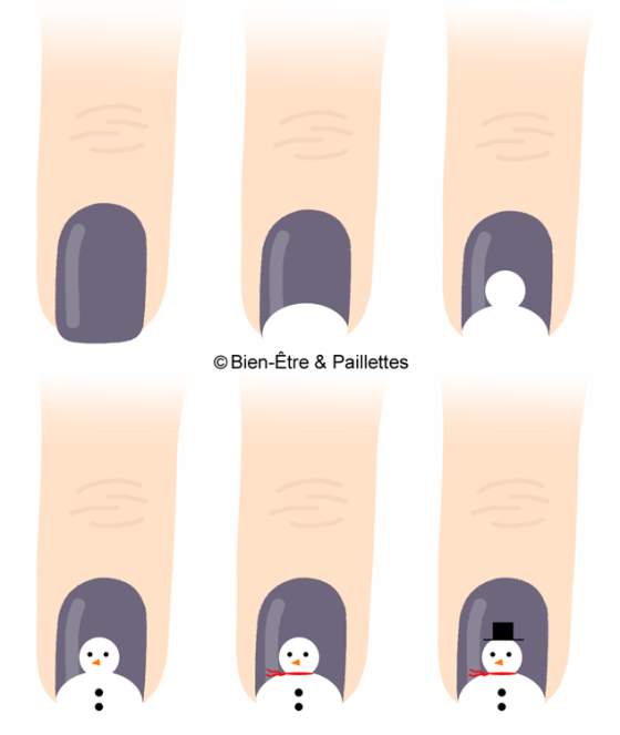 nail-art-bonhomme-de-neige-tuto