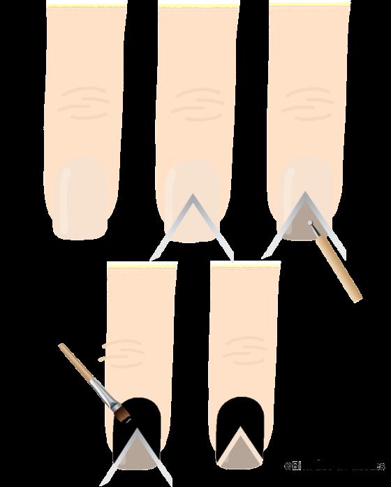 nail-art-or-noir-tuto