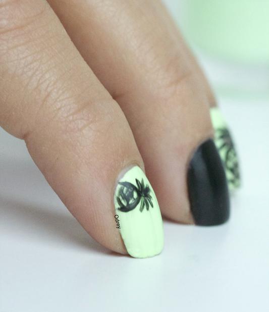 nail-art-ananas