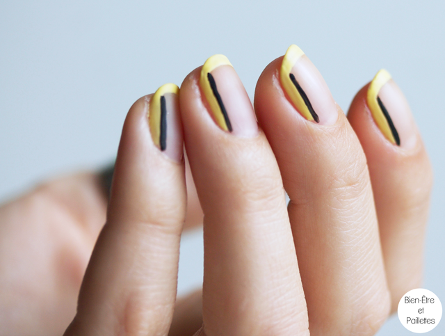 nail-art-jaune-et-noir-simple-3